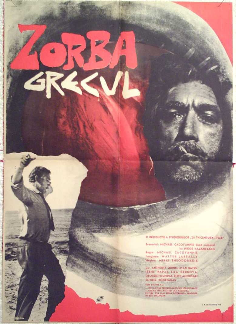 zorba the greek But when he arrives, he meets alexis zorba, a middle-aged greek man with a  zest for life zorba has had a family and many lovers, has fought in the balkan  wars.